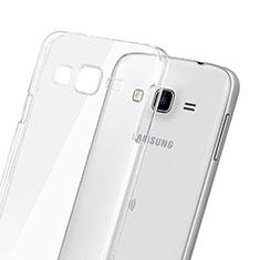 Samsung Galaxy J3用ハードケース クリスタル クリア透明 サムスン クリア