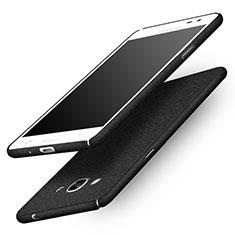 Samsung Galaxy J3 Pro (2016) J3110用ハードケース カバー プラスチック サムスン ブラック