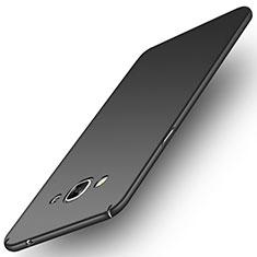 Samsung Galaxy J3 Pro (2016) J3110用ハードケース プラスチック 質感もマット M02 サムスン ブラック