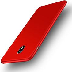 Samsung Galaxy J3 Pro (2017)用極薄ソフトケース シリコンケース 耐衝撃 全面保護 S01 サムスン レッド