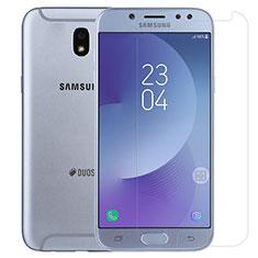 Samsung Galaxy J5 (2017) SM-J750F用強化ガラス 液晶保護フィルム T01 サムスン クリア