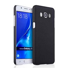 Samsung Galaxy J5 Duos (2016)用ハードケース プラスチック 質感もマット サムスン ブラック