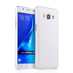 Samsung Galaxy J5 Duos (2016)用ハードケース プラスチック 質感もマット サムスン ホワイト