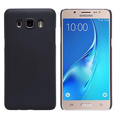 Samsung Galaxy J5 Duos (2016)用ハードケース プラスチック 質感もマット M02 サムスン ブラック