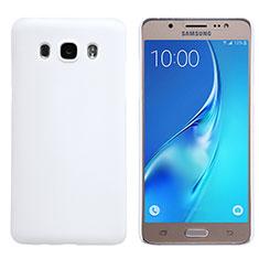 Samsung Galaxy J5 Duos (2016)用ハードケース プラスチック 質感もマット M02 サムスン ホワイト