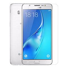 Samsung Galaxy J5 Duos (2016)用強化ガラス 液晶保護フィルム T01 サムスン クリア