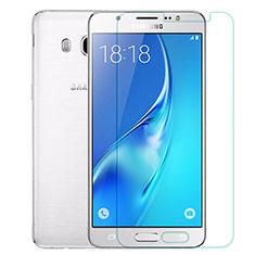 Samsung Galaxy J5 Duos (2016)用強化ガラス 液晶保護フィルム T02 サムスン クリア
