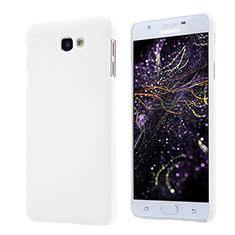 Samsung Galaxy J5 Prime G570F用ハードケース プラスチック 質感もマット サムスン ホワイト