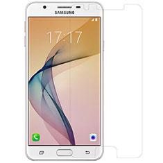 Samsung Galaxy J5 Prime G570F用強化ガラス 液晶保護フィルム T01 サムスン クリア