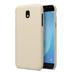 Samsung Galaxy J5 Pro (2017) J530Y用ハードケース プラスチック 質感もマット サムスン ゴールド