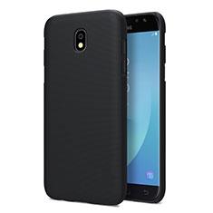 Samsung Galaxy J5 Pro (2017) J530Y用ハードケース プラスチック 質感もマット サムスン ブラック