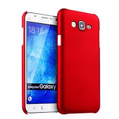 Samsung Galaxy J5 SM-J500F用ハードケース プラスチック 質感もマット サムスン レッド
