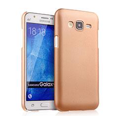 Samsung Galaxy J5 SM-J500F用ハードケース プラスチック 質感もマット サムスン ゴールド