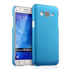 Samsung Galaxy J5 SM-J500F用ハードケース プラスチック 質感もマット サムスン ブルー