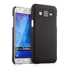 Samsung Galaxy J5 SM-J500F用ハードケース プラスチック 質感もマット サムスン ブラック
