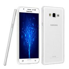 Samsung Galaxy J5 SM-J500F用極薄ソフトケース シリコンケース 耐衝撃 全面保護 クリア透明 カバー サムスン クリア