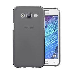 Samsung Galaxy J5 SM-J500F用極薄ソフトケース シリコンケース 耐衝撃 全面保護 クリア透明 サムスン グレー