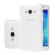 Samsung Galaxy J5 SM-J500F用極薄ソフトケース シリコンケース 耐衝撃 全面保護 クリア透明 サムスン クリア