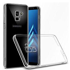 Samsung Galaxy J6 (2018) J600F用極薄ソフトケース シリコンケース 耐衝撃 全面保護 クリア透明 カバー サムスン クリア