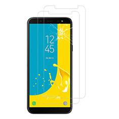 Samsung Galaxy J6 (2018) J600F用強化ガラス 液晶保護フィルム サムスン クリア