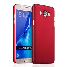Samsung Galaxy J7 (2016) J710F J710FN用ハードケース プラスチック 質感もマット サムスン レッド