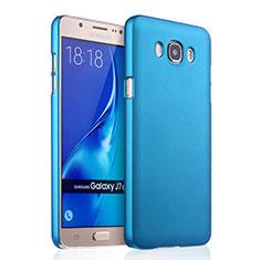 Samsung Galaxy J7 (2016) J710F J710FN用ハードケース プラスチック 質感もマット サムスン ブルー