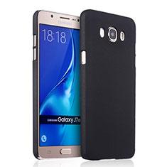 Samsung Galaxy J7 (2016) J710F J710FN用ハードケース プラスチック 質感もマット サムスン ブラック