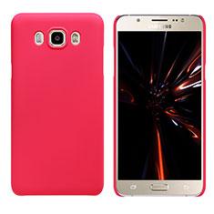 Samsung Galaxy J7 (2016) J710F J710FN用ハードケース プラスチック 質感もマット M03 サムスン レッド
