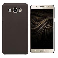 Samsung Galaxy J7 (2016) J710F J710FN用ハードケース プラスチック 質感もマット M03 サムスン ブラウン