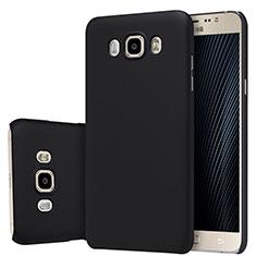 Samsung Galaxy J7 (2016) J710F J710FN用ハードケース プラスチック 質感もマット M03 サムスン ブラック