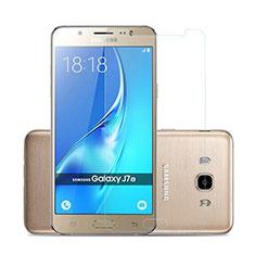 Samsung Galaxy J7 (2016) J710F J710FN用強化ガラス 液晶保護フィルム サムスン クリア