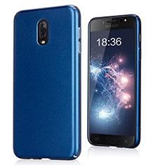 Samsung Galaxy J7 Plus用ハードケース カバー プラスチック サムスン ネイビー