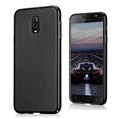 Samsung Galaxy J7 Plus用ハードケース カバー プラスチック サムスン ブラック