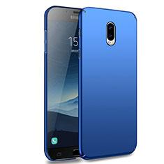 Samsung Galaxy J7 Plus用ハードケース プラスチック 質感もマット M02 サムスン ネイビー