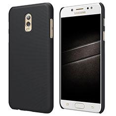 Samsung Galaxy J7 Plus用ハードケース プラスチック 質感もマット M04 サムスン ブラック
