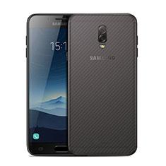 Samsung Galaxy J7 Plus用背面保護フィルム 背面フィルム サムスン クリア