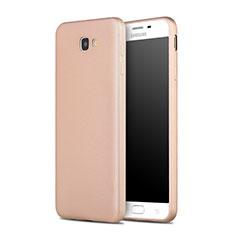 Samsung Galaxy J7 Prime用シリコンケース ソフトタッチラバー サムスン ゴールド