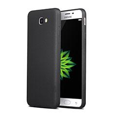 Samsung Galaxy J7 Prime用シリコンケース ソフトタッチラバー サムスン ブラック