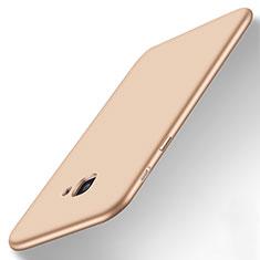Samsung Galaxy J7 Prime用極薄ソフトケース シリコンケース 耐衝撃 全面保護 サムスン ゴールド