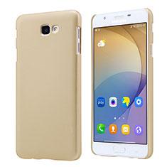 Samsung Galaxy J7 Prime用ハードケース プラスチック 質感もマット サムスン ゴールド