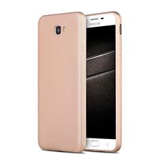 Samsung Galaxy J7 Prime用極薄ソフトケース シリコンケース 耐衝撃 全面保護 S03 サムスン ゴールド