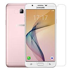 Samsung Galaxy J7 Prime用強化ガラス 液晶保護フィルム T01 サムスン クリア