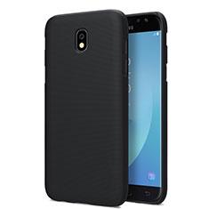 Samsung Galaxy J7 Pro用ハードケース プラスチック 質感もマット サムスン ブラック
