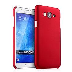 Samsung Galaxy J7 SM-J700F J700H用ハードケース プラスチック 質感もマット サムスン レッド