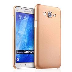 Samsung Galaxy J7 SM-J700F J700H用ハードケース プラスチック 質感もマット サムスン ゴールド