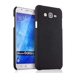 Samsung Galaxy J7 SM-J700F J700H用ハードケース プラスチック 質感もマット サムスン ブラック