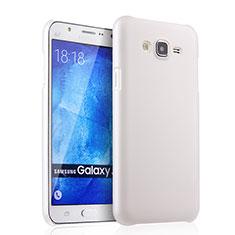 Samsung Galaxy J7 SM-J700F J700H用ハードケース プラスチック 質感もマット サムスン ホワイト