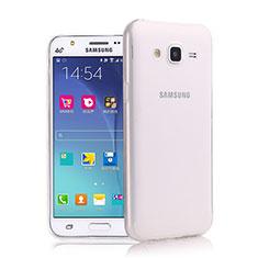 Samsung Galaxy J7 SM-J700F J700H用極薄ソフトケース シリコンケース 耐衝撃 全面保護 クリア透明 サムスン クリア