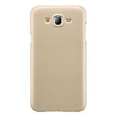 Samsung Galaxy J7 SM-J700F J700H用ハードケース プラスチック 質感もマット M02 サムスン ゴールド