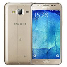 Samsung Galaxy J7 SM-J700F J700H用強化ガラス 液晶保護フィルム T01 サムスン クリア